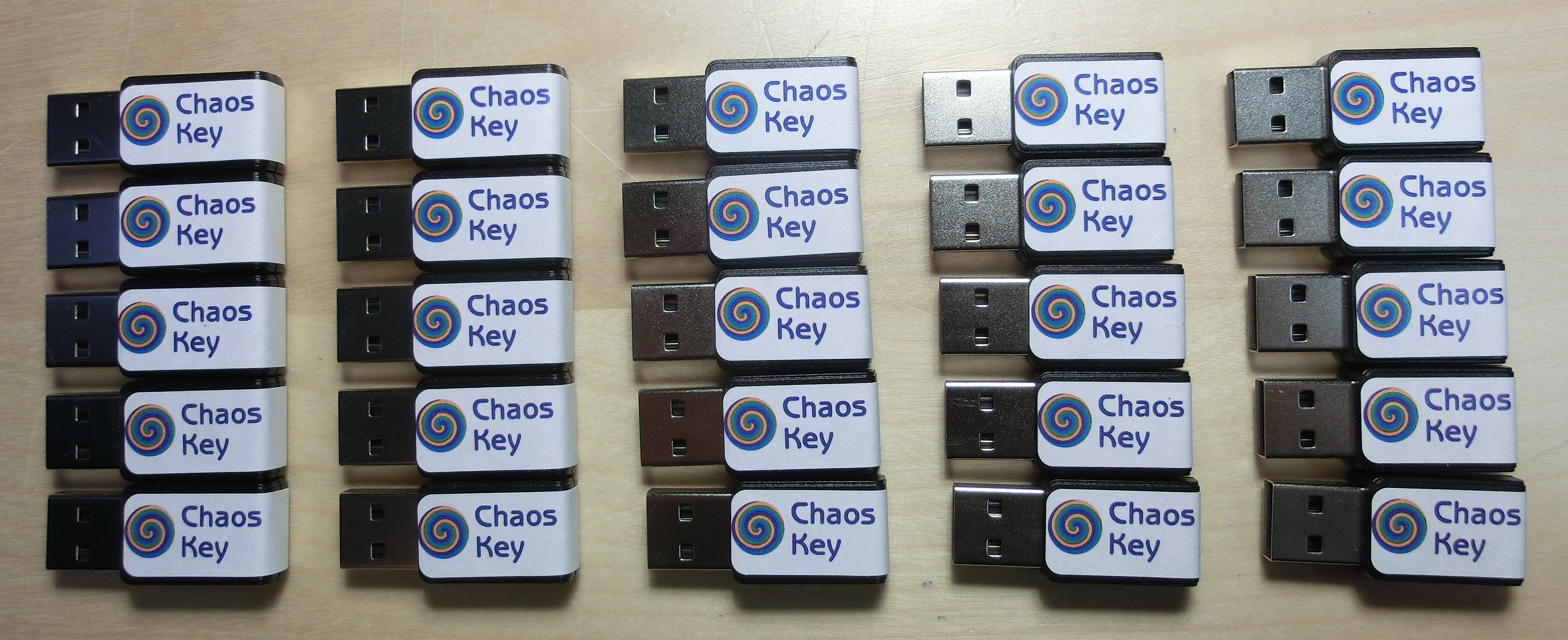ChaosKey Pack of 25