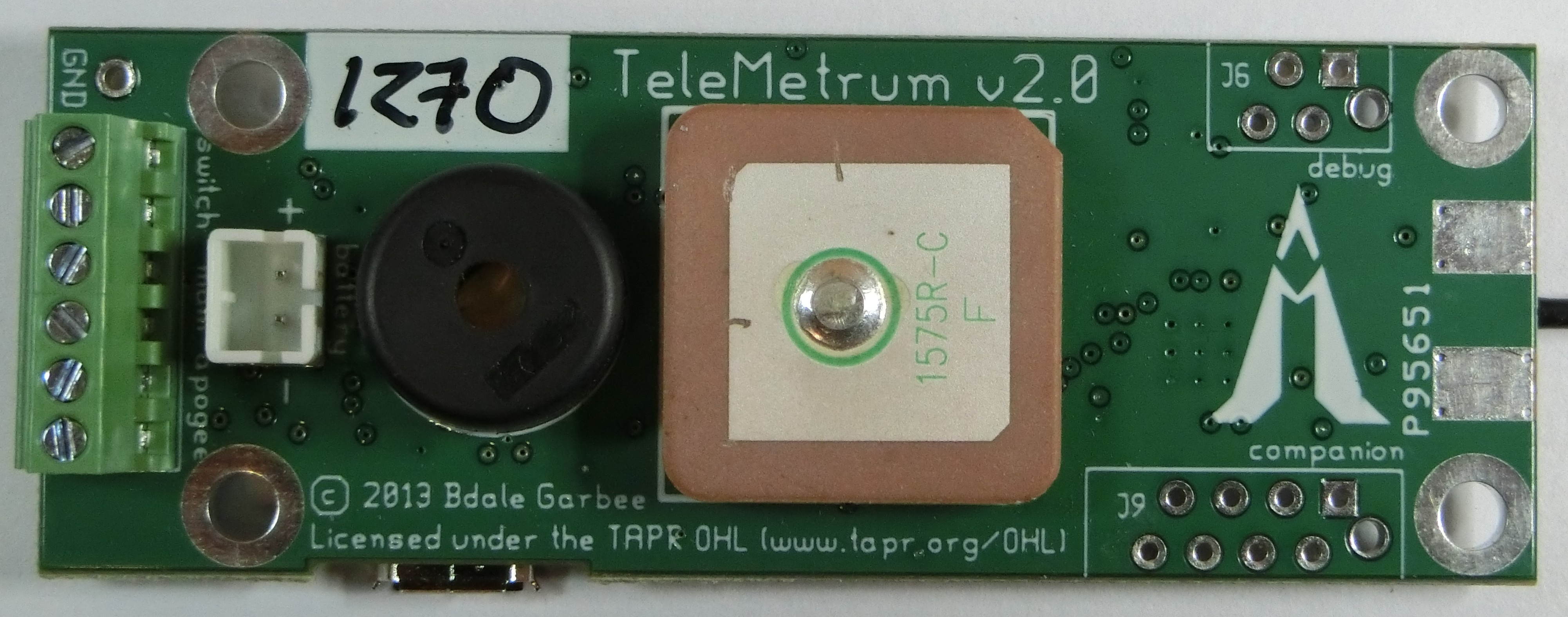 TeleMetrum v2.0